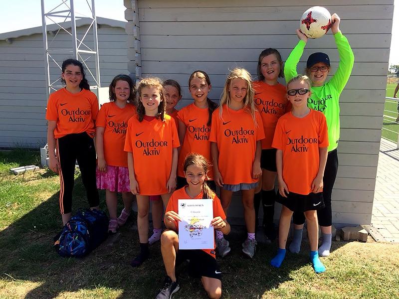 Fußballmannschaft Mädchen